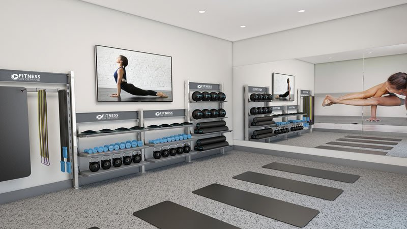 Apartment Fitness Center Amenities
