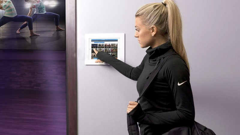 On-Demand Virtual Fitness Kiosk