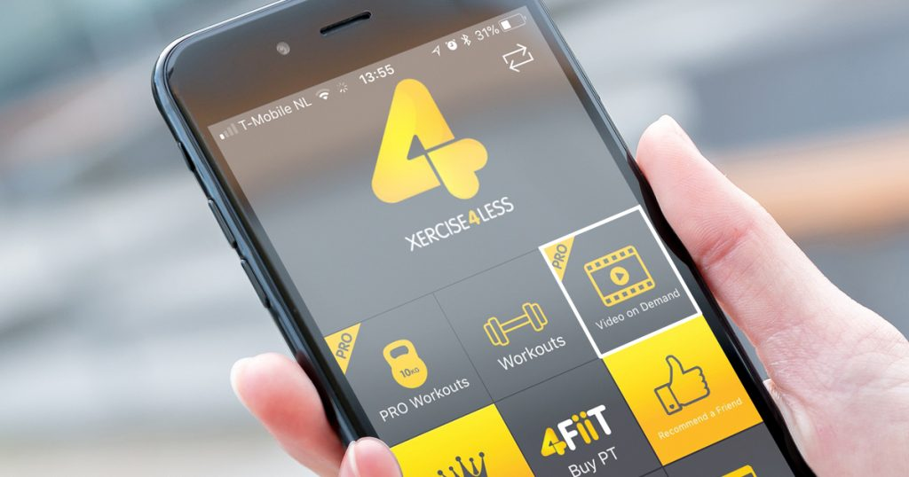 Xercise4Less Virtual Fitness Mobile App