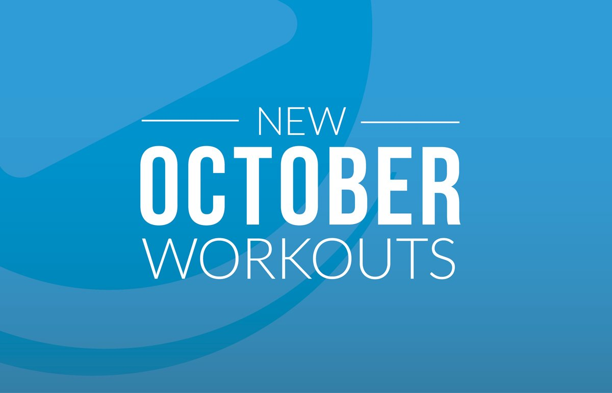 New October Workouts