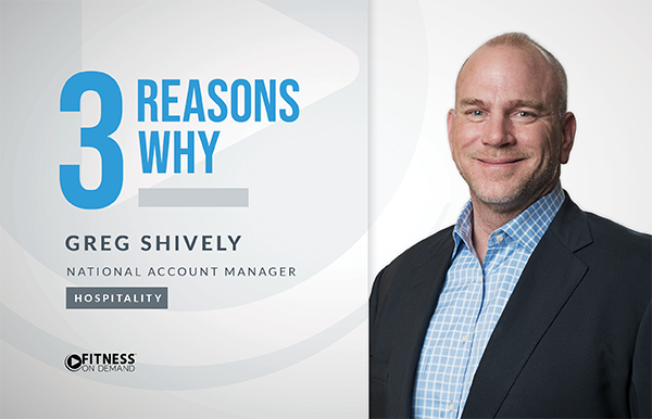 3 Reasons Why - Greg Shively