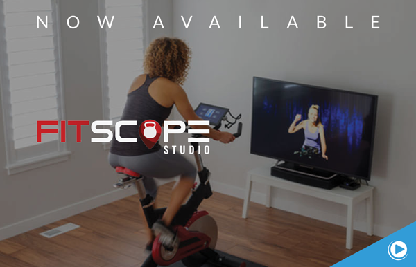 New to FitnessOnDemand: Fitscope Instructor-Led Classes for Cardio Equipment Workouts In-Club or at Home