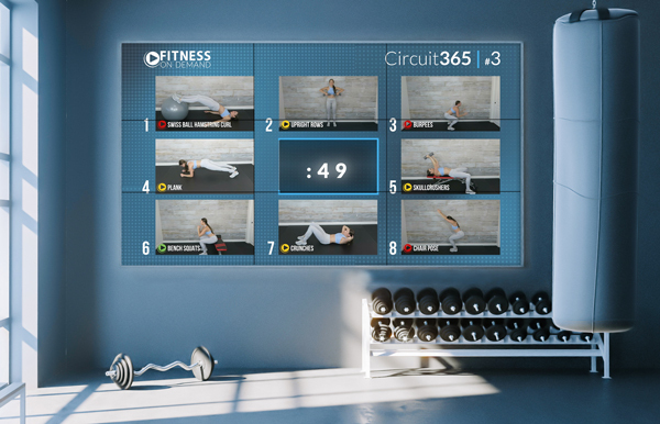 Virtual Fitness Circuit