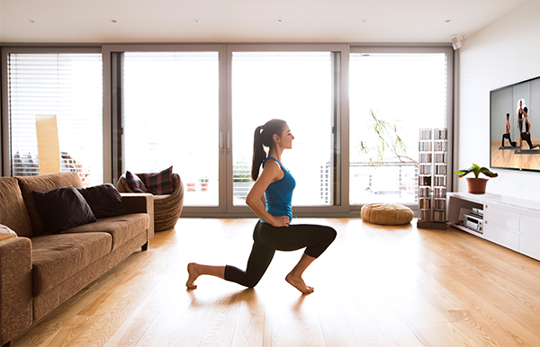 Virtual Fitness at Home