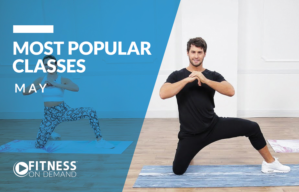 Most Popular Virtual Fitness Classes in May